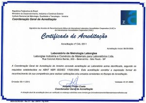 Certificado de Acreditação